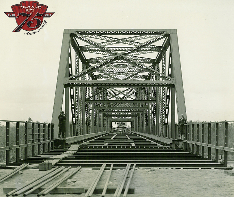 Construction of the Warren Truss Span.