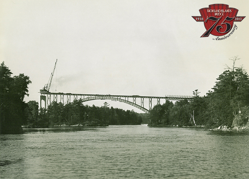 Canadian Arch Span 1937.